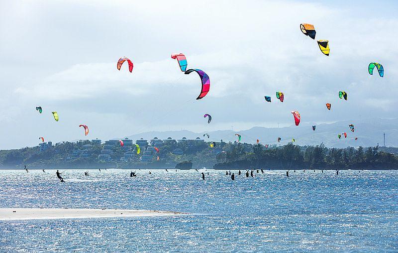Kite Surfing in Boracay Island