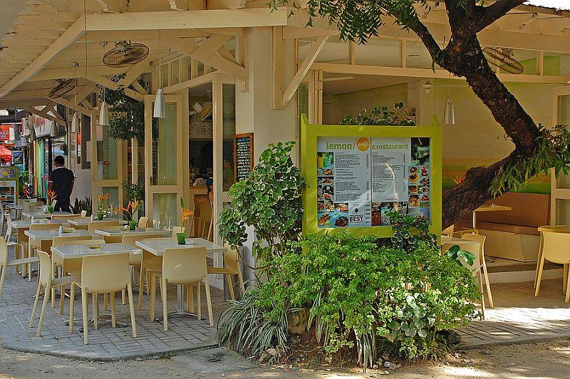 Lemon cafe and restaurant Boracay Island