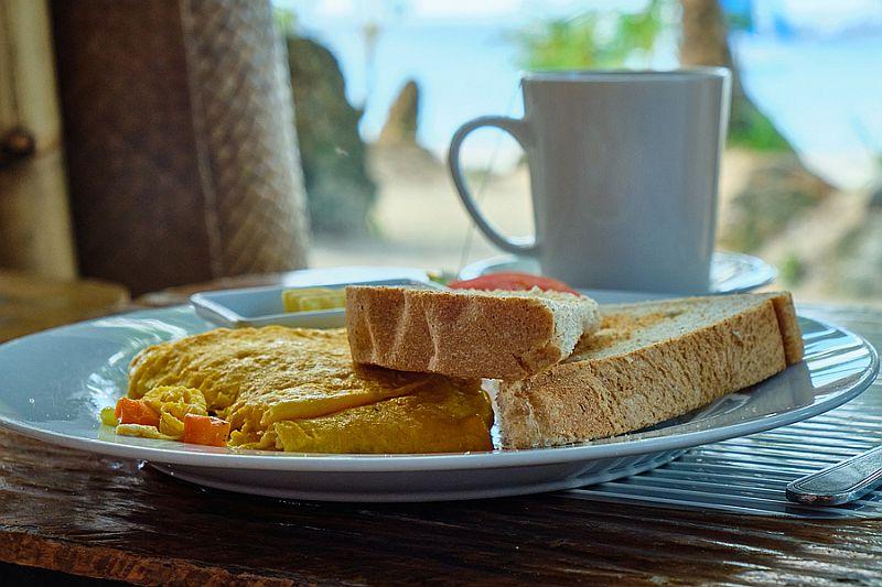 Breakfast on Boracay island