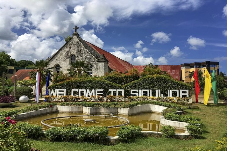 welcome to siquijor sign